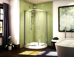 elegant bathroom stall doors enhancing modern interior accents calm curtain color for tile window facing used showers small shower stalls