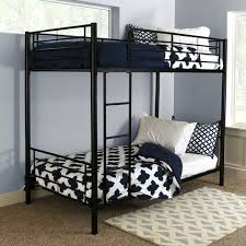 Black Metal Twin Bunk Bed Free Shipping Today Overstock 12021635
