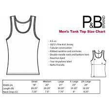 Tank Top Size Chart Men P B Best Dog Dad Ever Funny Mens Tank Top Black M