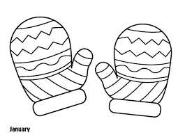 Small Picture Printable Coloring Pages Mittens Coloring Pages