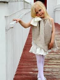 how to make a rustic style flower girl dress