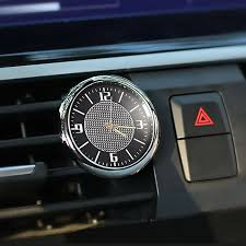 Car Clock For Car <b>Luminous Auto Gauge</b> Air Vent Quartz Clock With ...