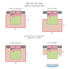 area rug size guide queen bed flickr photo sharing area rug placement bedroom