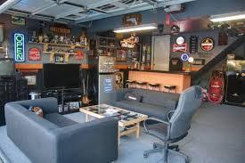 Man Cave Garage Bar At Amazing Cool Ideas 18