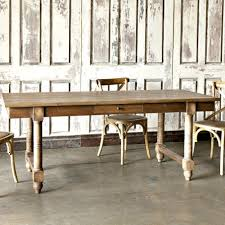 French Farmhouse Dining Table French Farmhouse Dining Table With Wood Dining Table And Drawers