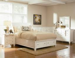 Contemporary King Bedroom Set White — All Contemporary Design ...