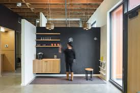 Dental office architect Grey You Assume He Biked There Which He Did And Notice Shower In The Office Its Essential For Dentist Who Pulls Quick Turnarounds From Lycra To Surgical Ego Squared Dental Office Design Reborn In Portland Dentistryiq