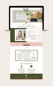 Bespoke Web Design Company Custom Launch Small And Mighty Co Website Design Layout