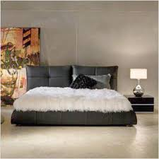 Lago Leather Bed - Scan Design | Modern & Contemporary Furniture Store