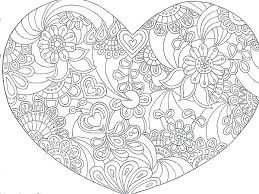 Mom Heart Coloring Mothers Day Coloring Heart Download Free