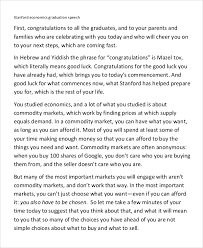sample graduation speech example documents in word pdf graduation speech example