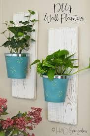 diy wall hanging planter