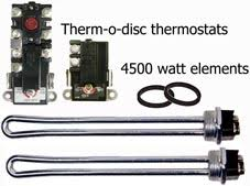how to wire water heater thermostat therm o disc thermostats