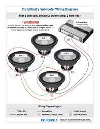 svc 4 ohm sub wiring diagram facbooik com 4 Ohm Dual Voice Coil Subwoofer Wiring Diagram svc 4 ohm sub wiring diagram facbooik Dual Voice Coils 4 Ohm Speaker Wiring Configurations