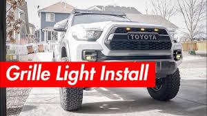 Tacoma Grill Lights Install Pro Grille Lights Raptor Lights Install Runnin4tacos Com