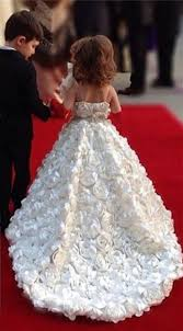 ball gown flower girl dresses. cute white spaghetti strap ball gown flower girl dresses sweep train girls pageant with flowers r