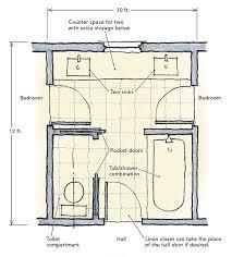 jack and jill bathroom designs new 10 best jack and jill bathroom floor plans images on