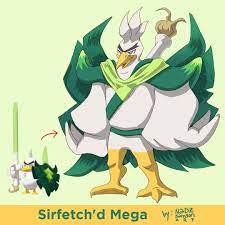 Sirfetch'd Mega Evolved | Mega evolution pokemon, Pokemon, Mega evolution