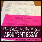 lady or the tiger essay digital resource by nouvelle ela tpt product thumbnail the lady or the tiger argumentative essay
