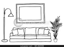 living room clipart black and white. pin lounge clipart black and white #4 living room