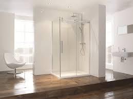 image of frameless sliding shower doors 1000mm