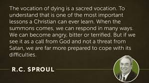 Voting Quotes Mesmerizing In Memory Of RC Sproul 48 Quotes On The Glory Of God LogosTalk