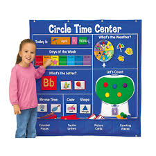 Learning Center Pocket Chart Lakeshore Circle Time Learning Center