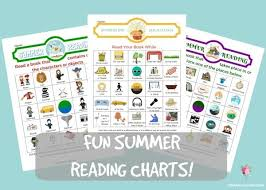 Summer Book Reading Chart Summer Reading Charts Cranial Hiccups