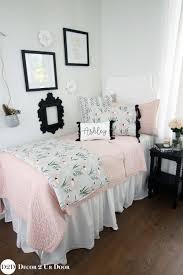 blush pink grey flamingo teen girls bedding