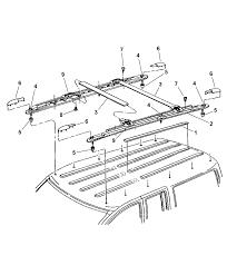 1997 jeep grand cherokee roof rack diagram 00i41532