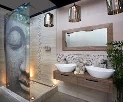 asian style master bathroom with pendant lights asian pendant lighting