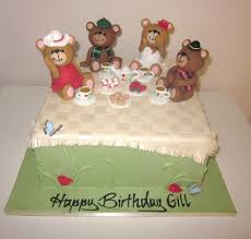 Teddy Bear Tea Party Cake Teddy Bear Tea Party Cake Made Flickr