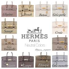 Hermes Color Chart Heychenny