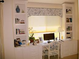 size 1024x768 simple home office. Charming White Office Design Under Window With Valances Featuring Modular Desk Cabinet And . Size 1024x768 Simple Home