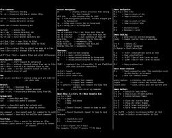 linux cheat sheet cheat sheet all cheat sheets in one page