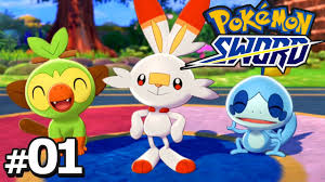 Pokemon Sword Part 1 WELCOME TO GALAR Gameplay Walkthrough Pokemon Sword &  Shield - YouTube