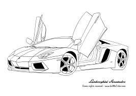 Coloring Pages To Print Gta Cars