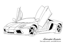 Lamborghini Coloring Pages Free Online Printable