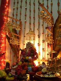 157 best ganpati decoration images