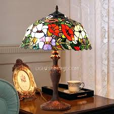 small stained glass lamp stylish stained glass lamps regarding best rose pattern antique lamp for study small stained glass lamp