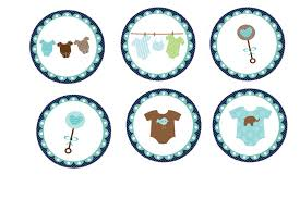 Cake Decorations For Boy Baby Shower