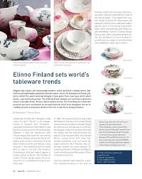 Elinno Design Scan Magazine Issue 56 September 2013 By Scan Group Issuu