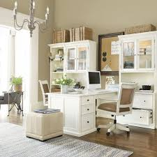 ikea office desks for home. white and airy home office like the way desks bump out so 2 people ikea for n