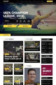 joomla football template. Soccer Magazine Joomla Theme Free Download