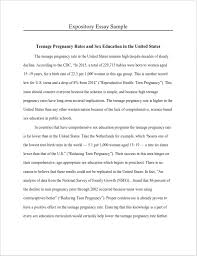Sample Expository Essay How To Write An Expository Essay Format And Examples