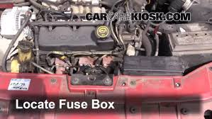 replace a fuse 1995 2000 mercury mystique 1996 mercury mystique 99 mercury mystique fuse box diagram at 99 Mystique Fuse Box Engine Compartment