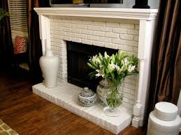 here are some other brick fireplaces we have seen that have used white surround mantels