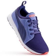 puma shoes for girls blue. carson runner jr. girls\u0027 running shoes puma - astral aura blue for girls e
