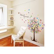 Small Picture Colorful Butterfly Tree Wall Sticker Online Shopping Pakistan
