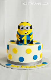 Minions Smash Cake Minion For You Birthday Cakes Kids First Emmajayne